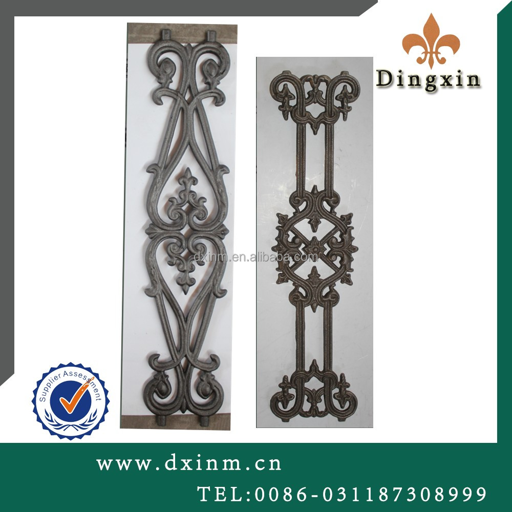 The wrought iron cast iron usually used for the ornamental castings south africa