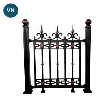 Cheap Metal Fence Panels For Home And Garden - Buy Cheap Prefab Fence  Panels,Metal Pig Fence Panel,Aluminum Fencing Solid Product on Alibaba com