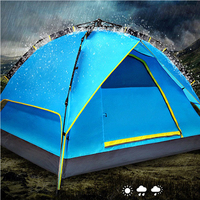 Newly Design Luxury Family Automatic Camping Tent
