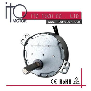 Small electric fan motor small ac synchronou micro motor for Ac synchronous motor manufacturers