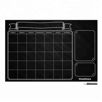 Blackboard Sticker Organizer Agenda Memo for Home Office