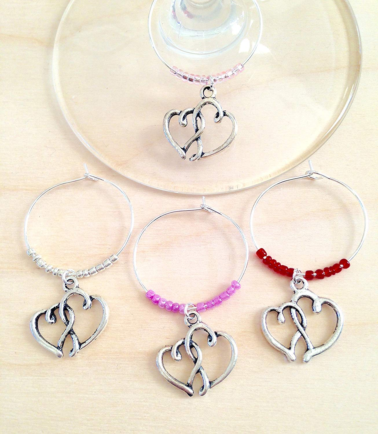 wine charms for engagement party favors bridal shower favors