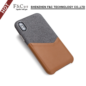 New product ideas 2018 mobile accessories with premium leather for iphone 2018 for iphone x