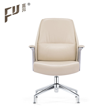office chair genuine leather white. Modern Design White Soft Genuine Leather Conference Office Chair Office Chair Genuine Leather White C