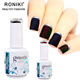 RONIKI New Coming Cheap Wholesale OEM Matte Effect Soak Off Uv Matte Nail Polish Gel