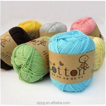 Aliexpress Crochet Yarn Wholesale Cotton Yarn Market India And
