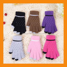 New Design Touch Screen Texting Clicking Glove for Smart Phones