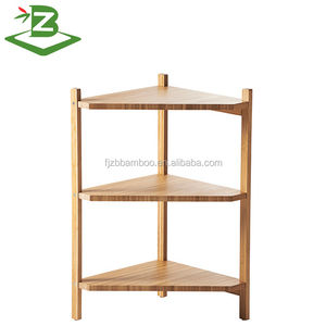 Bamboo living room corner shelf for sale