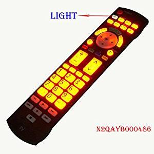 Original For Panasonic LED LCD TV TH32LRU20 37LRU2042 mando garaje luminous remote control N2QAYB000486