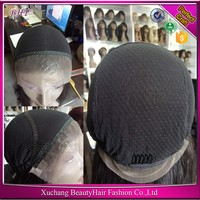 brazilian hair full thin skin pu injection wig