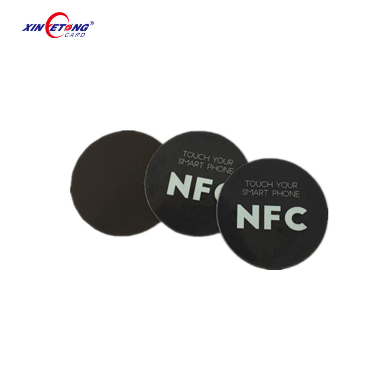 NFC Sticker Phone Available Adhesive Labels 25mm Token Patrol Universal Label RFID Tag Mini