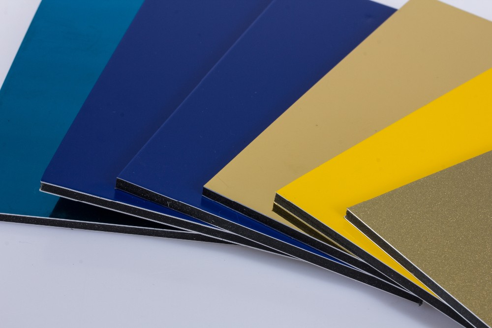 China Double-Side Polyester Coating Aluminum Composite