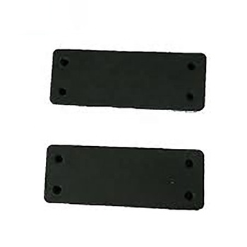 43lbs Rated Military-Grade Gun Magnet 2-Pack Rubber Coated