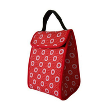 Fashion and newly style neoprene durable colorful high quality low price custom printed lunch cooler bag cheap