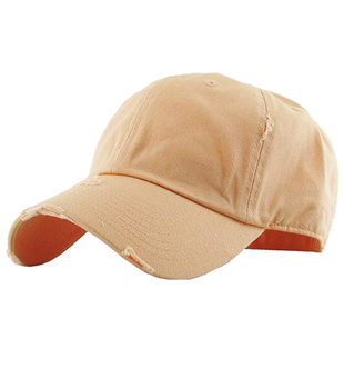 c68ca83a Men And Women 100% Cotton Unstructured Distressed Dad Hat - Buy ...