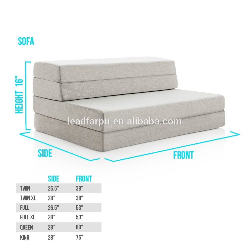 Folding Mattress Mattress 92 Folding Mattress Bed Convertible Sofa Bed Queen Size Atlaug