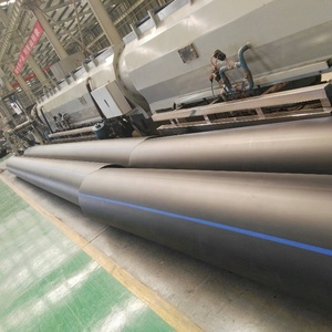 PN20 Black PE100 HDPE Pipe Polyethylene Pipe for Water Supply