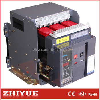 Cw1 3200a 4p Draw Out Type Under Voltage Protection Frame Universal