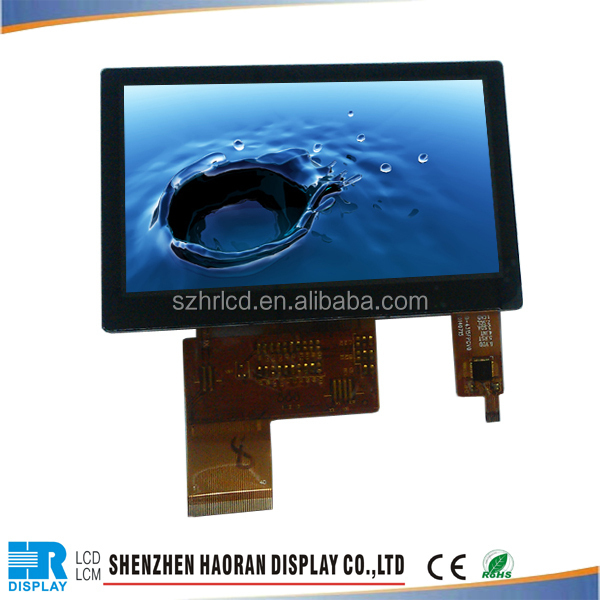 "4,3 ""kapazitiven LCD display mit hoher helligkeit mit kapazitiver Touch-Panel kleinen lcd-display"