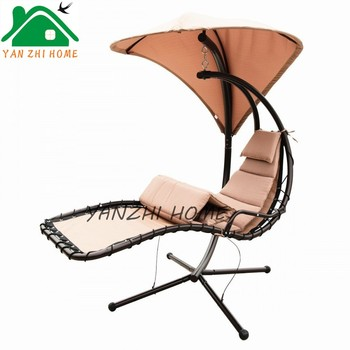 Beau Outdoor Single Seat Swing Chair Dream Hammock Chair With Canopy