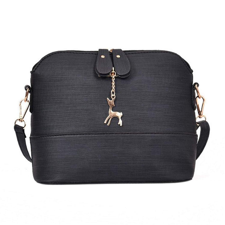 BCDshop Medium Crossbody Shoulder Bag Purse Messenger Bags for Women,Vintage Stlye