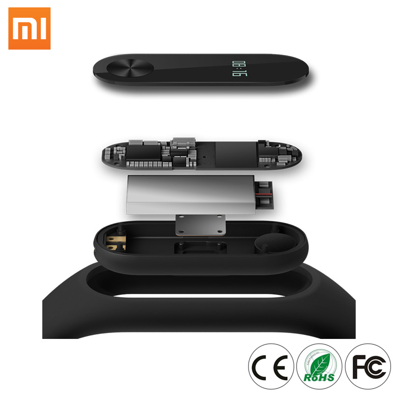 Mobile Phone Smart Wearable Devices Made in China Shenzhen Xiaomi Mi Band2 Pedometer Sleep Tracking Bracelet Mi Band 2