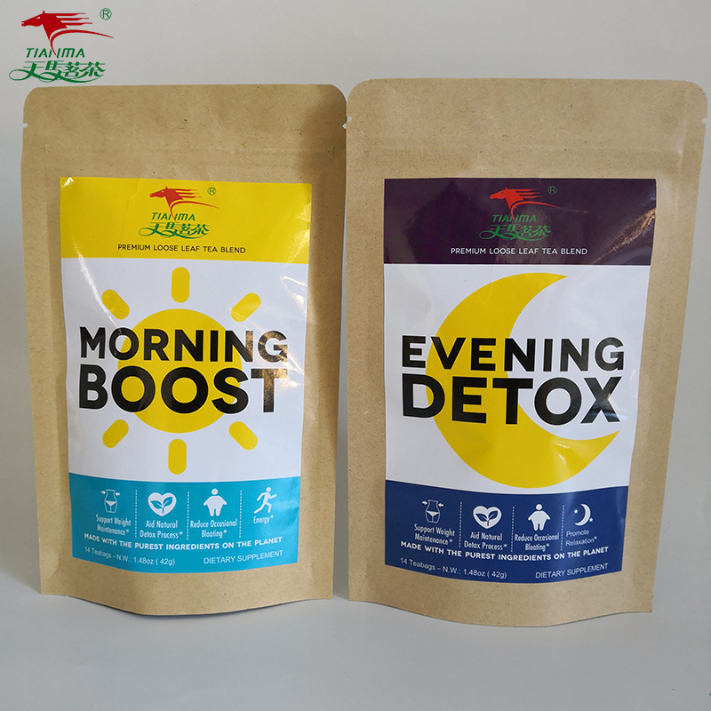 Factory in China Morning Boost Tea Or Evening Detox Tea, Herbal Teatox - 4uTea | 4uTea.com