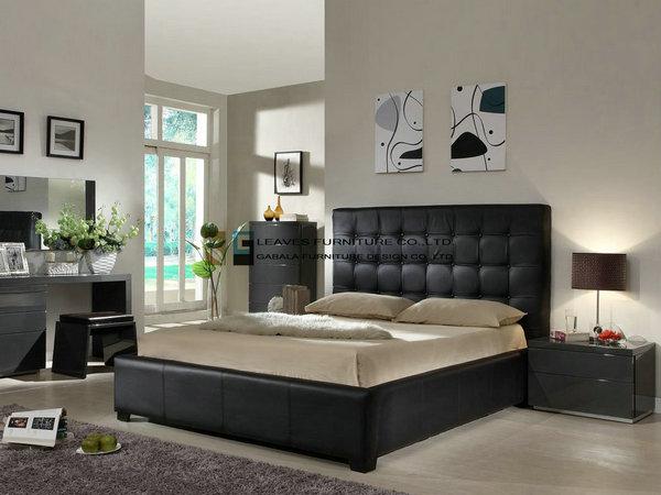 zwarte slaapkamer meubels – artsmedia, Deco ideeën