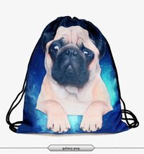 2016 Fashion weed flag backpack drawstring bag 3D print manufacturers high quality best selling promotion custom tote bag