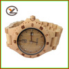 pure color mix metal japan movet quartz wood watch china manufacturer