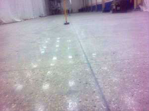 Profloor 400 Very Flat Heavy Duty Polished Concrete Floor With Semi Gloss Finish For