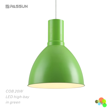 Special 20W Indoor COB Led Pendant Light/Green Led High Bay Light