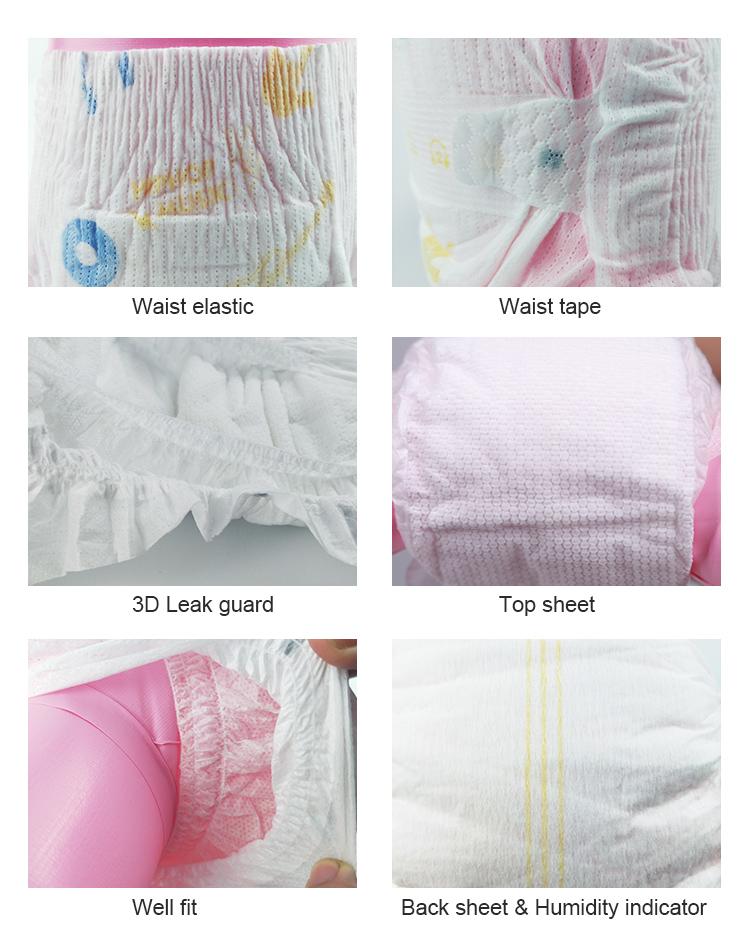 Plus Populaire Ultra-Pur Coton Softcare Couches Pantalon CE Certificat Allemand Bébé Couches