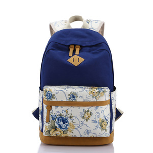 776541ee7570 China School Canvas Backpack Bags