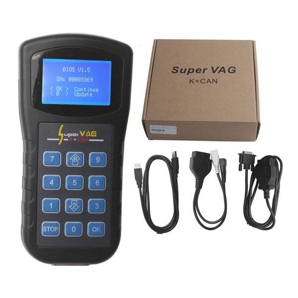 Для Skoda / VW / сиденье supervag супер vag k + v4.6 инструмент + программирование ключей + коррекция одометра супер vag k может v4.6