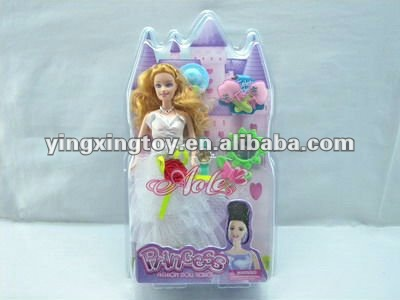 hot sell plastic children toy Princess doll