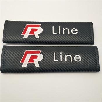 Customized Logo Cotton Car Seat Belt Pads Covers Shoulder Auto Seatbelt Pair