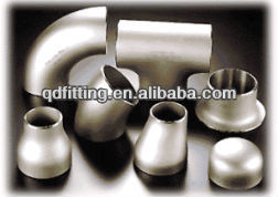 A403 WP316 SCH40/80/160 BW stainless steel drainage pipe fittings