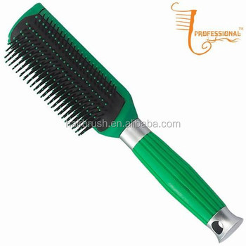 how to clean paddle hair brush