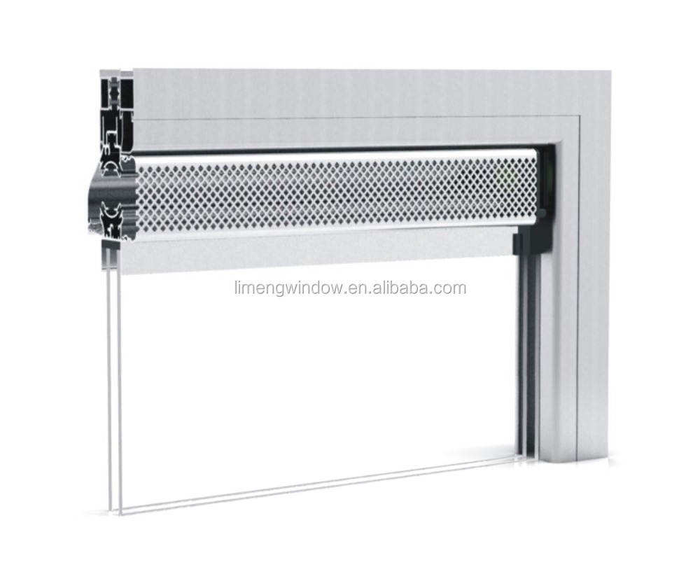 high quality thermal break aluminum sliding windows with acoustic vents for house