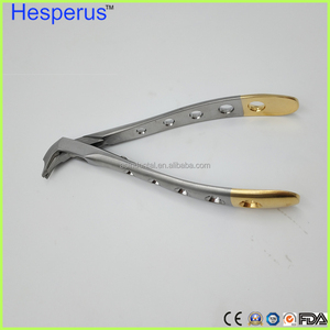 Dental laboratory material the broken crown clamp crown removing pliers