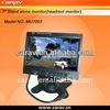 Super slim desgin! Hot! 7 inch TFT car lcd monitor ,AV2 input with the Automatic reversing function, good for back car.