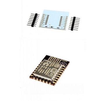 Esp-12 Esp8266 And Adapter Board Uart Serial To Wifi Wireless Module Use  External Antenna For Raspberry Pi - Buy Esp-12 Esp8266,Wifi Wireless