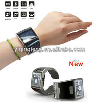 2012 sWaP watch phone with touch screen,bluetooth,video player,as bracelet in factory price