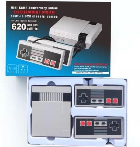 Original Mini SFC Best Seller NES Retro Handheld Plug N' Play Classic NES Game Console - 2 Controllers - Upgraded 500 Games - BestSellersAmazinTrendz