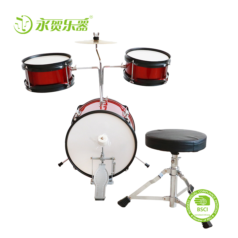 2019 Hot-sale Favorite High Quality Musical Instrument Kids Drum Set Musical Instrument Unique Design Jazz Drum Set  baby toys