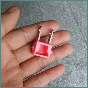 plastic injection molded small hidden rotating folding electric plug
