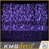 IP44 controller type wall decoration 288L led waterfall icicle lights for wedding