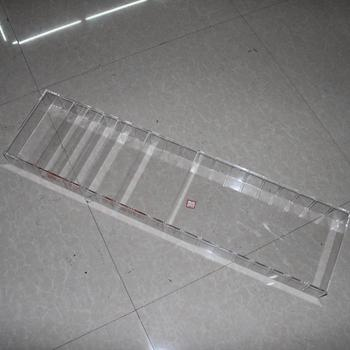 Customized High Quality Clear Acrylic Plastic Tray Divider