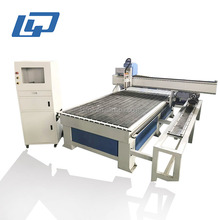 double heads High Precision Italian HSD spindle used MDF wood acrylic cnc router machine 4 axis/cnc router machine